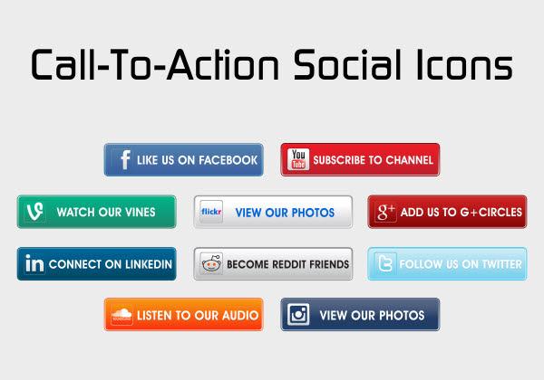 Resultado de imagen para Call to action social media