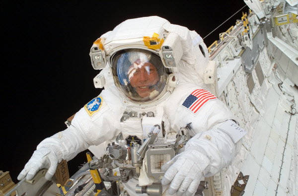 Astronaut Michael E. Fossum