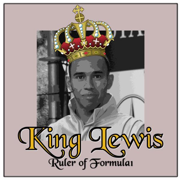 King Lewis Hamilton